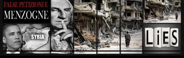 Siria - La guerra della disinformazione