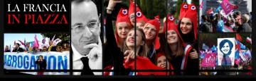 Ottobre 2016 - Francia - Manif pour tous - Matrimoni sodomitici - protesta