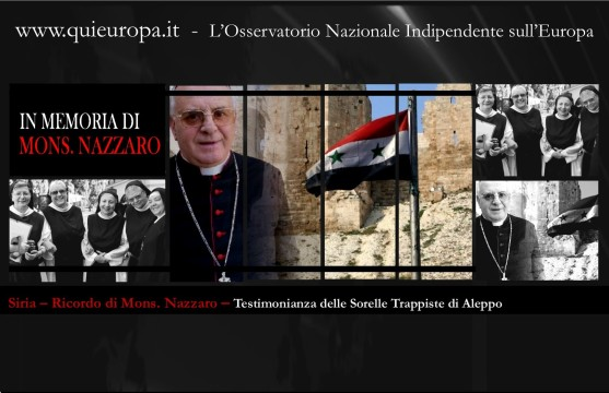 Siria – Ricordo di Mons. Nazzaro