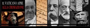Vaticano - Incredibile apertura alla pratica della Cremazione