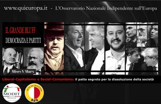 Liberal-Capitalismo e Social-Comunismo: il patto segreto per la dissoluzione della società