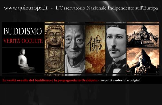 Le verità occulte del buddismo e la propaganda in Occidente