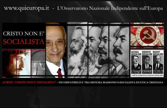 CRISTO NON E' SOCIALISTA