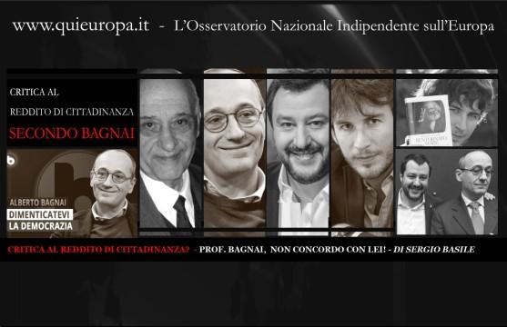 Reddito di Cittadinanza - Sergio Basile