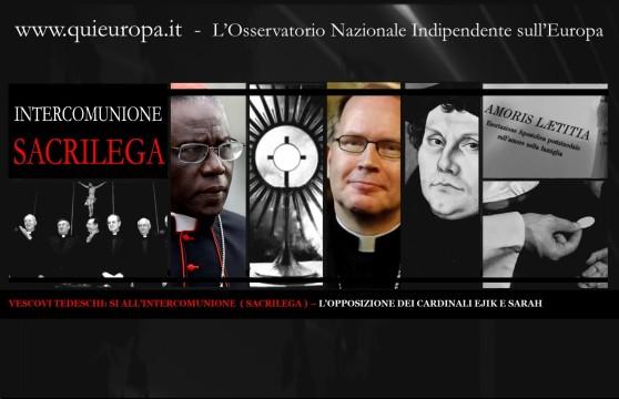 Intercomunione sacrilega
