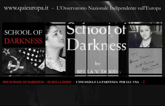 THE SCHOOL OF DARKNESS