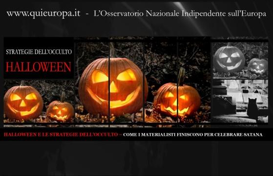 halloween calebrazione di satana
